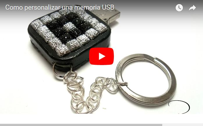 diy decorar un pendrive memoria  USB