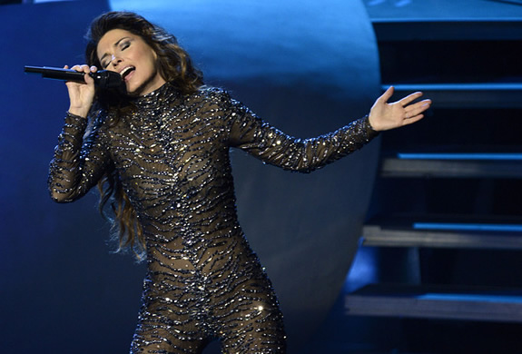 Video: SHANIA TWAIN EN VIVO EN BUFFALO, NY