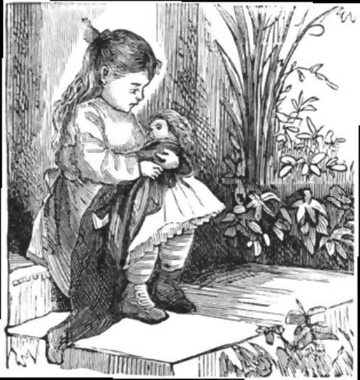 Dance, dance, doll of mine! - a fairy tale by Hans Christian Andersen