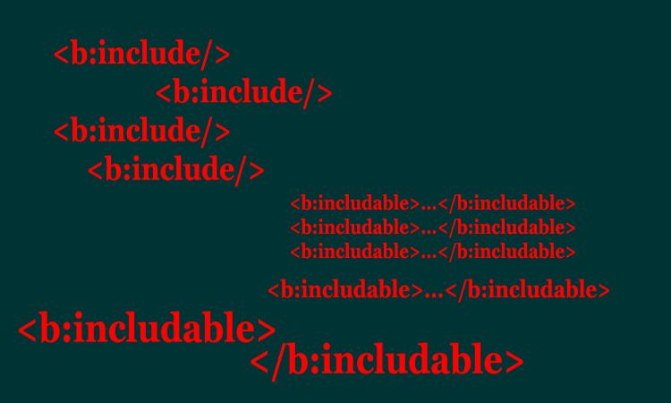 penggunaan tag b:include dan b:includable Di Blog