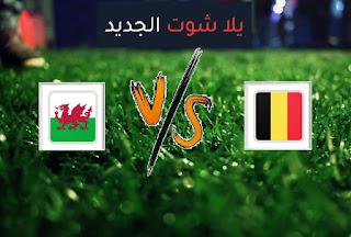 نتيجة مباراة بلجيكا وويلز اليوم الأربعاء في تصفيات كأس العالم 2022 أوروبا