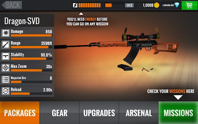 Sniper 3D MOD Apk v3.8.4