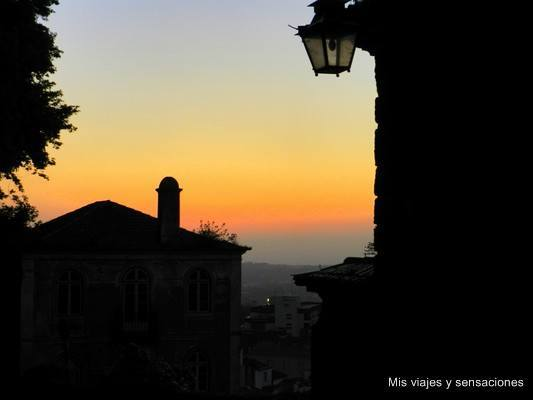 Sintra al anochecer, Portugal