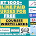 All Premium Paid Courses For Free Get All For Free All Type Of Courses | Comment Down For Your Opinion Courses | Developer Devotion