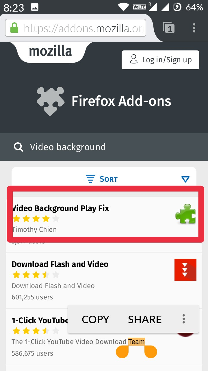 How To Play YouTube videos in background in Android