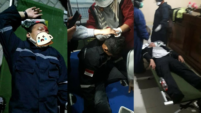 MDMC: Relawan Muhammadiyah Ditabrak Motor Polisi, Lalu Diseret dan Ditendang