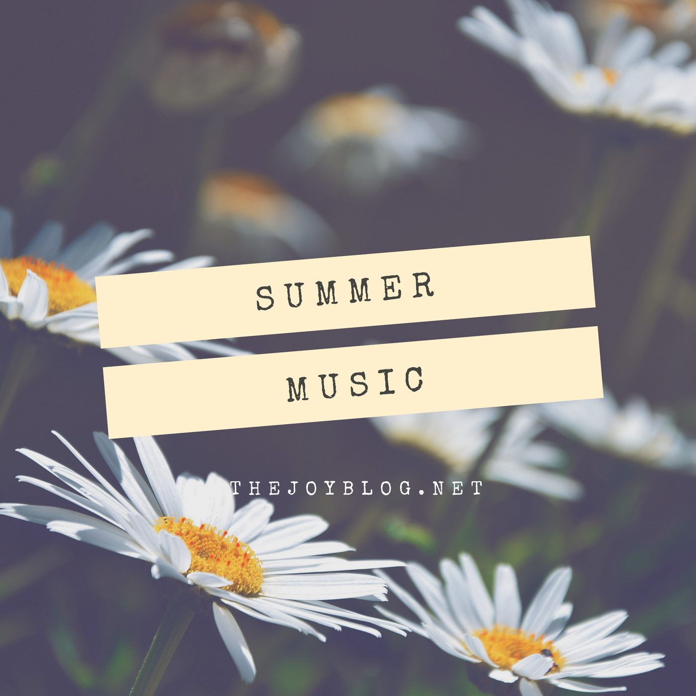 Summer Music Playlist - www.thejoyblog.net