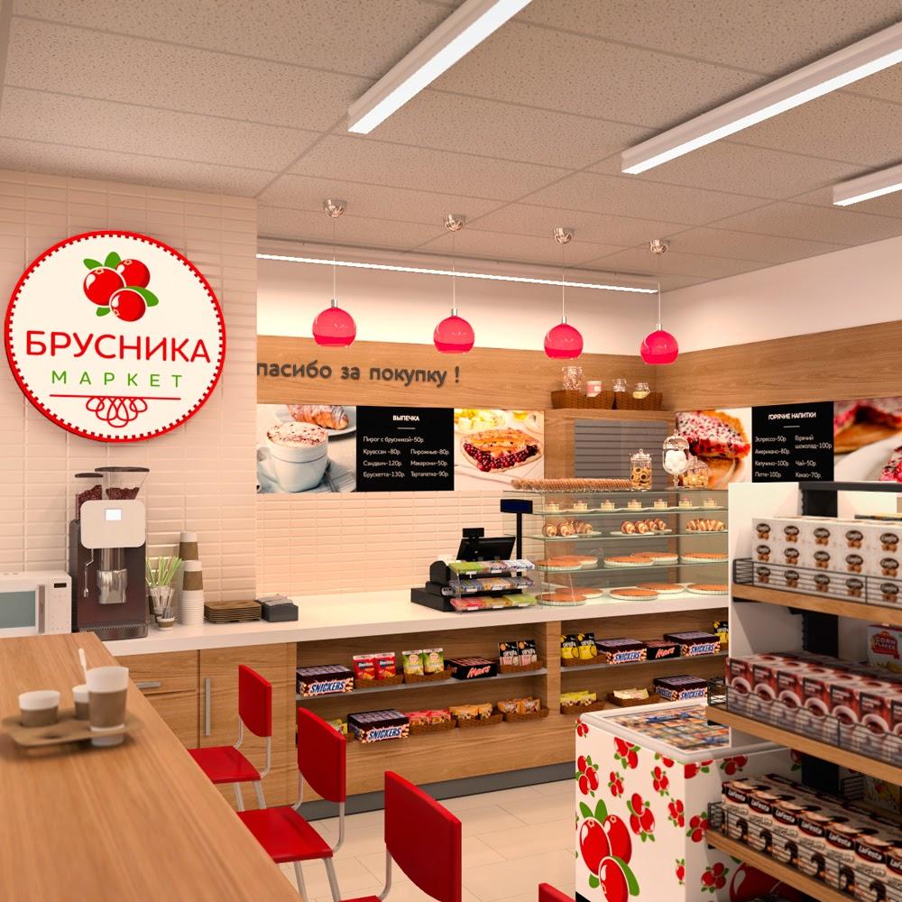 Дизайн мини магазина
