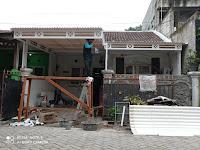 Pemasangan kanopi Alderon RS & Rangka holow di Serpong Kota Tangerang Selatan