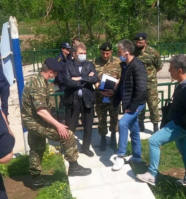 Έβρος: Ταξίδι-αστραπή και ικανοποίηση Χρυσοχοίδη για επιχειρησιακή ετοιμότητα δυνάμεων στα σύνορα (ΦΩΤΟ)
