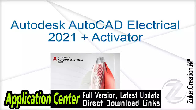 Autodesk AutoCAD Electrical 2021 + Activator