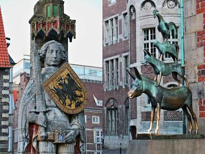 Bremen erleben und entdecken, Bremer Roland, Bremer Stadtmusikanten