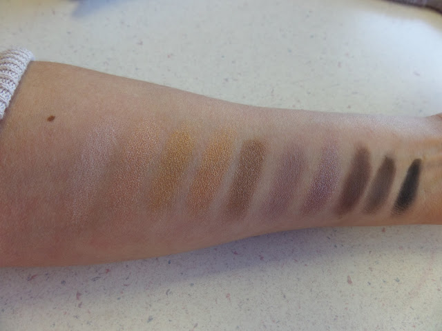 Wet n Wild 10-Pan Studio Eyeshadow Palette swatches