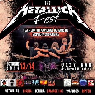 Reunión de Fans de METALLICA en Colombia 2018 2
