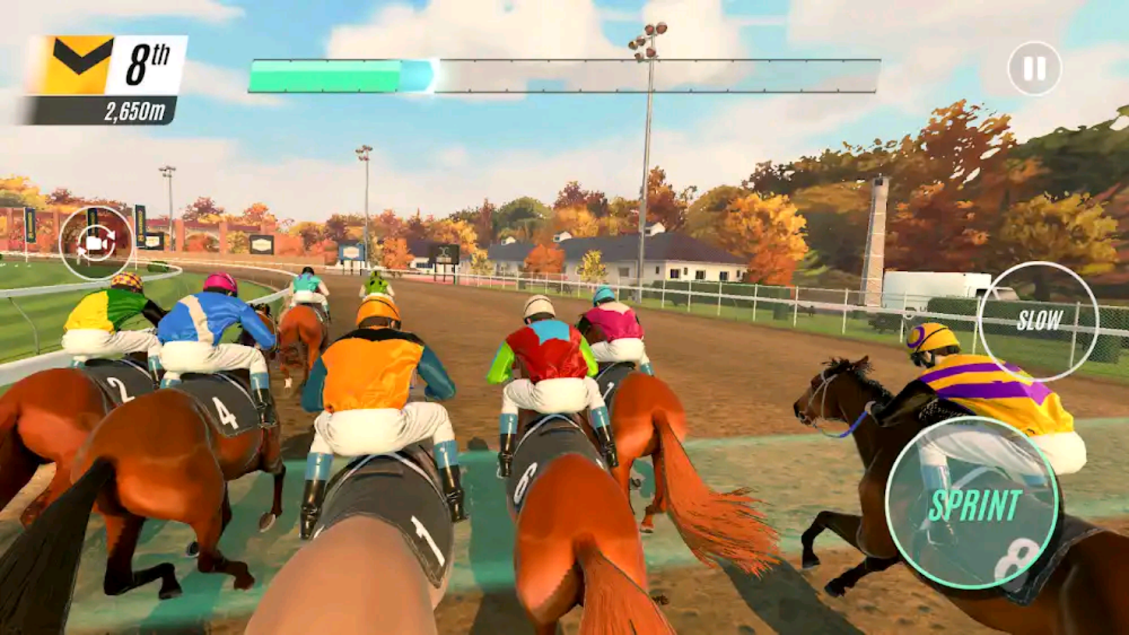 Rival Stars a Horse Racing.