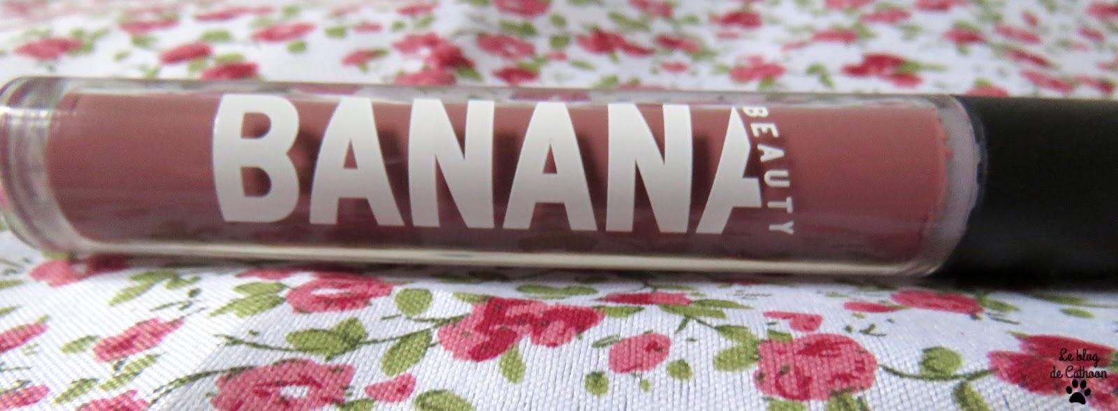 Rouge à Lèvres Liquide - Lady Licious - Banana Beauty