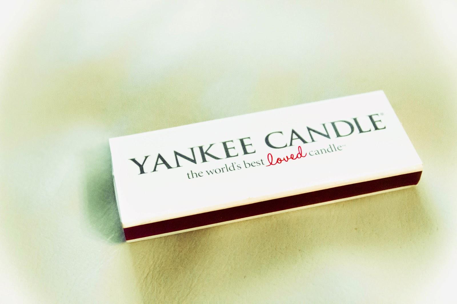 Zapałki yankee candle