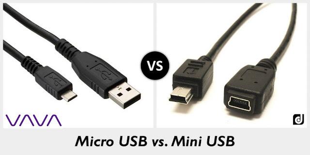 Cổng Micro và Mini USB dùng cho camera hành trình ô tô có gì khác nhau?