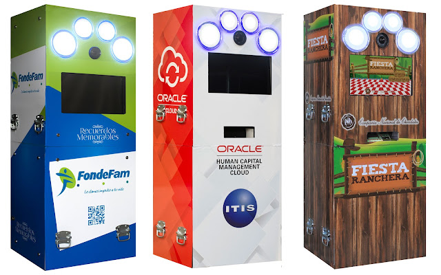 Renta de photobooths en Bogota para eventos