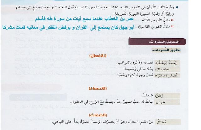 الوصية في القرآن الكريم لغة عربية
