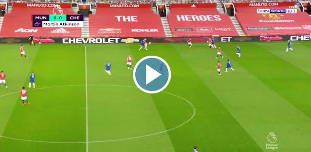 Manchester United vs Chelsea Live Score