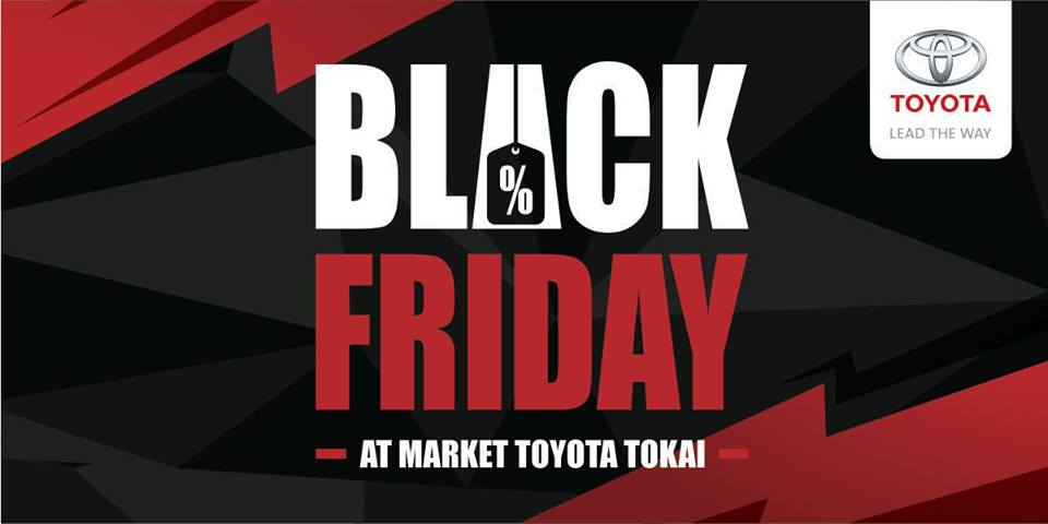 Blackfriday Market Toyota Tokai Black Friday 2018