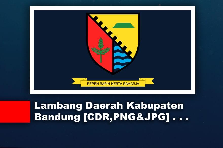 Lambang atau Logo Daerah Kabupaten Bandung CDR, PNG, JPG