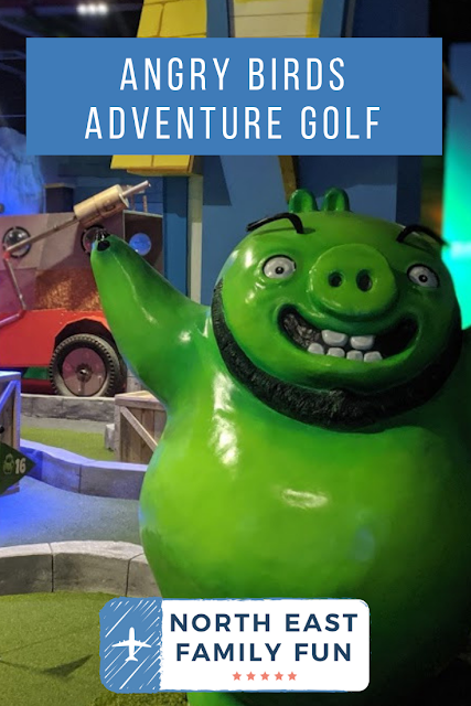 Angry Birds Adventure Golf at intu Metrocentre | Opening, Prices & Food