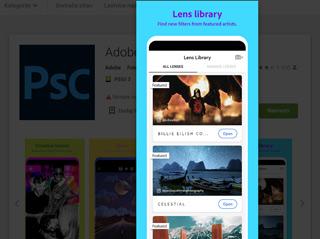 mobilna aplikacija adobe photoshop camera