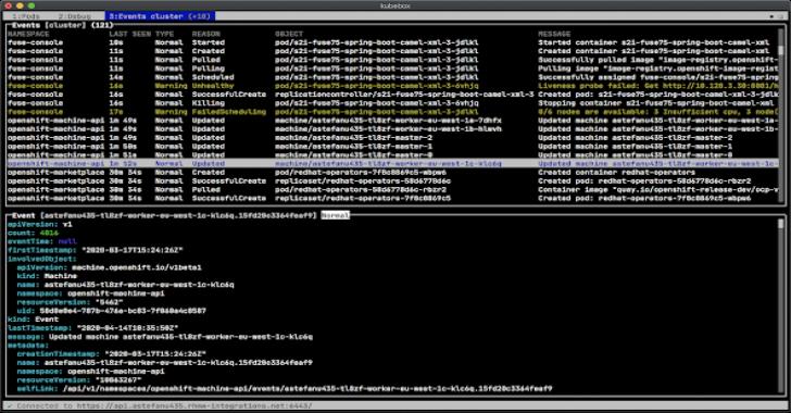 Kubebox : Terminal & Web Console For Kubernetes