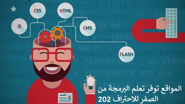 أفضل المواقع توفر تعلم البرمجة من الصفر للاحتراف 2020 || تعلم البرمجة خطوة بخطوة