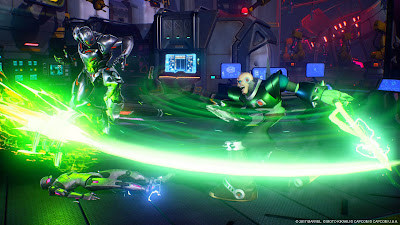 Videojuego Green Lanter Capcom