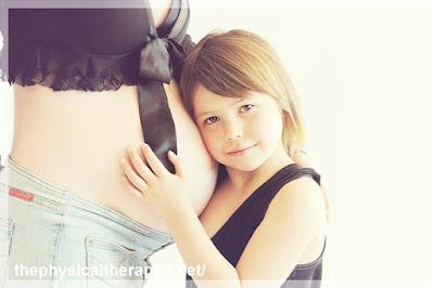 العلاج الطبيعي للحامل