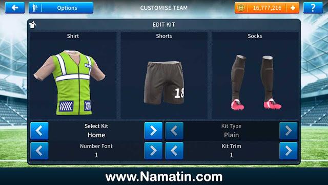 Kostum Dream League Soccer Rompi Parkir