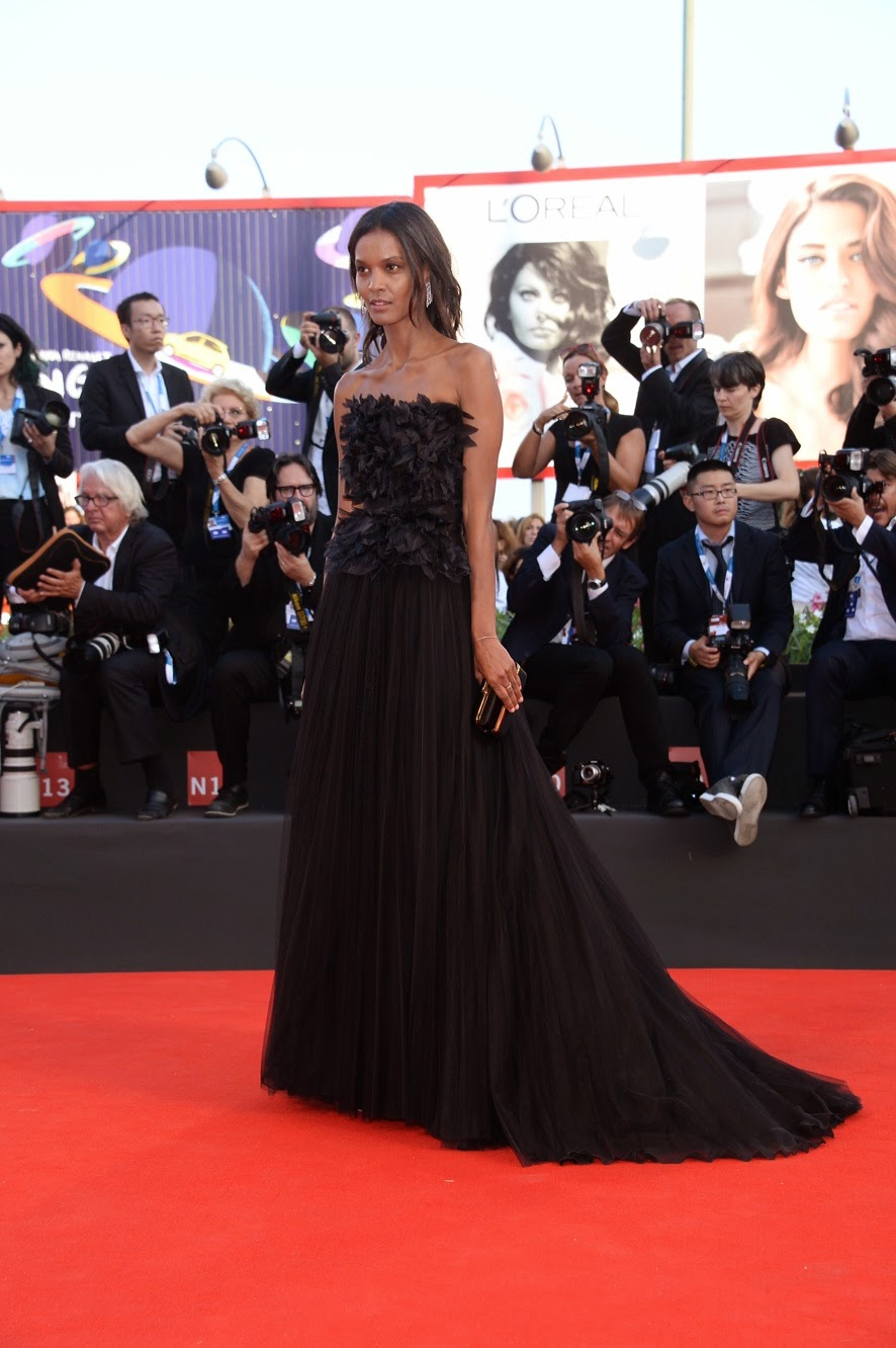 Liya Kebede on Red Carpet