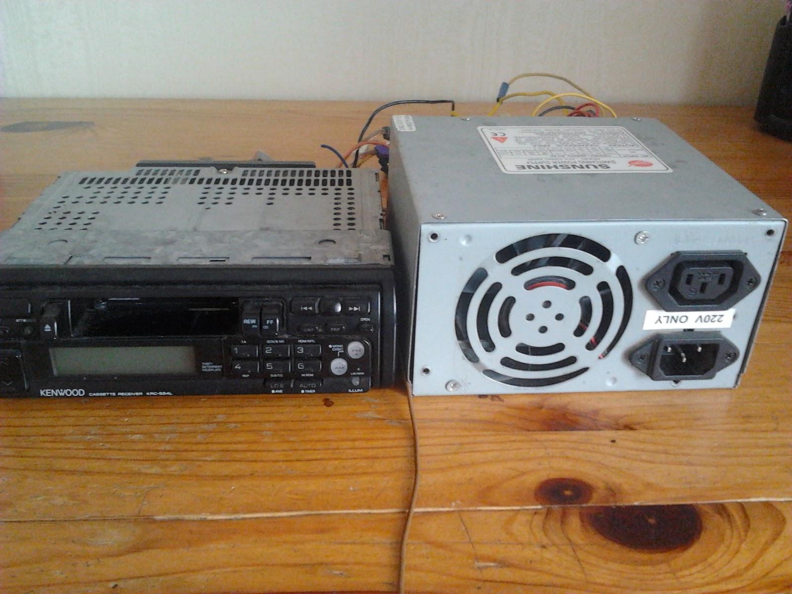 Solder-Board blogspot com: Car Stereo PC Power Supply Mod