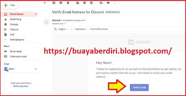 Verifikasi Email Discord PB
