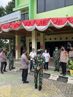 Panglima TNI dan Kapolri Tinjau Vaksinasi Massal Pelaut hingga Pekerja Pelabuhan Tanjung Priok