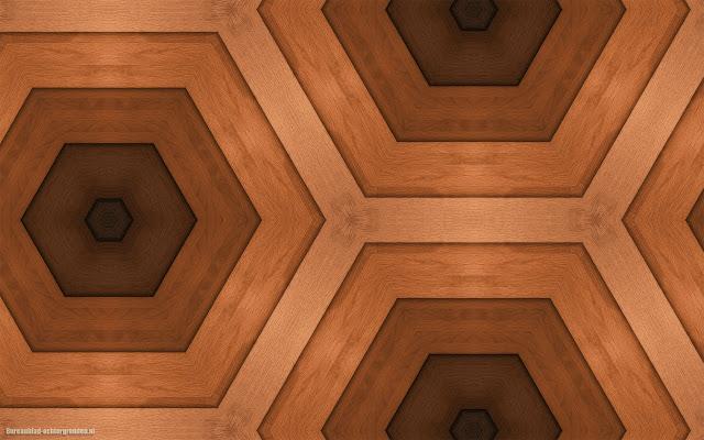 Mooie bruine wallpaper van hout met patronen