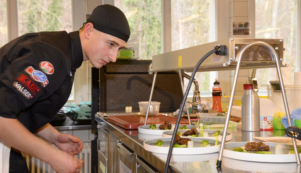 Timo Rechsteiner: «Ich lege Wert auf eine saisonale und nachhaltige Küche»