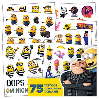 Despicable Me 3 party favors