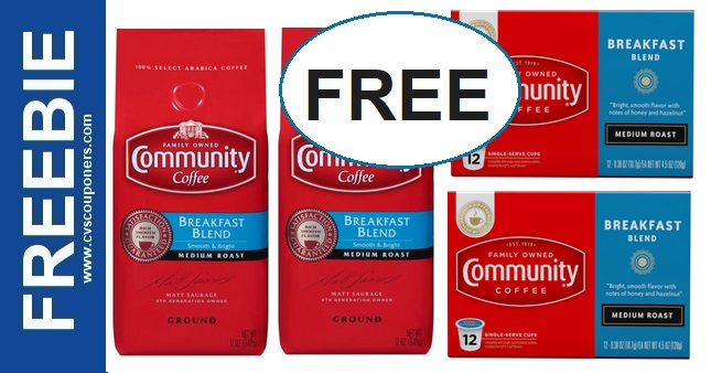 Who Wants FREE Coffee at CVS