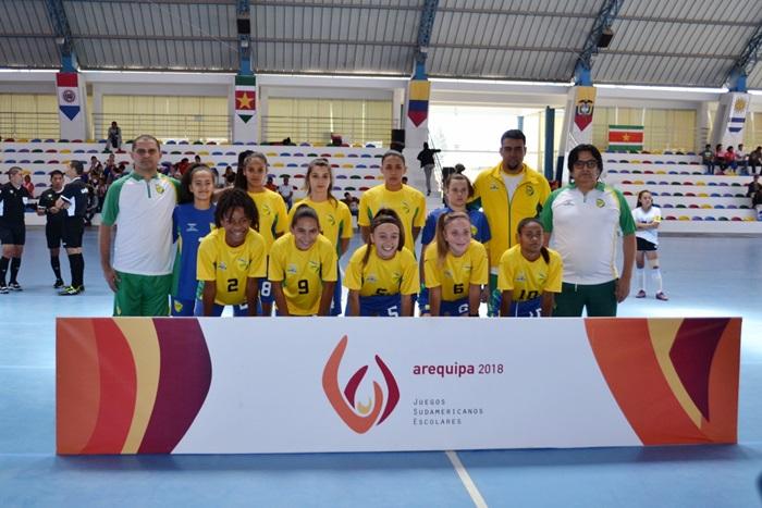 41f8230ad9 Arequipa - O futsal escolar do Brasil mais uma vez