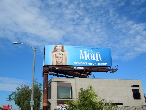 Mom sitcom season 1 billboard