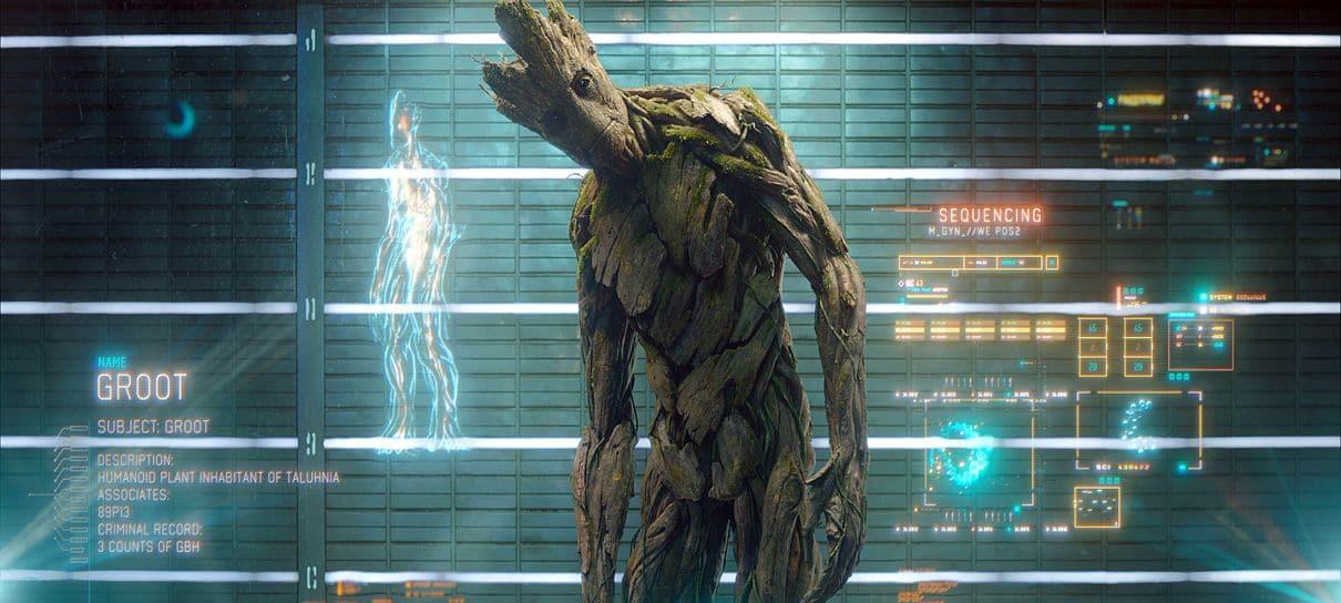 Groot ganhará outra versão em Guardiões da Galáxia Vol. 3