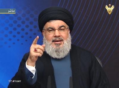 Nasrallah será um alvona próxima guerra entre Israel e Hezbollah