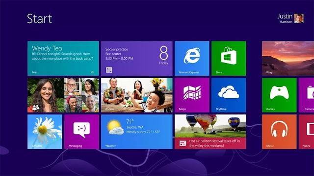 Tampilan Windows 8 | Gaptogeek