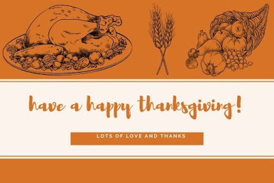 Have a happy thanksgiving written on turkey background.
