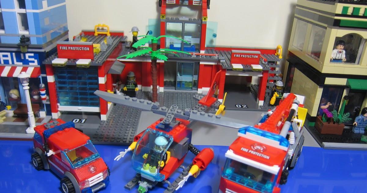 Bricks And Figures Kazi 8051 Fire Station