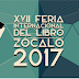Programación de la Feria Internacional del libro del Zocalo 2017: Participación de editorial Cinosargo y Daniel Rojas Pachas